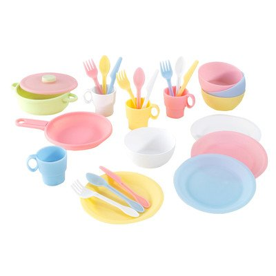 27 Piece Cookware Play Set Color: Pastel (27 Piece Cookware)