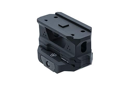 Strike Industries. 3 Piece - T1 Riser Optic Mount (Black)