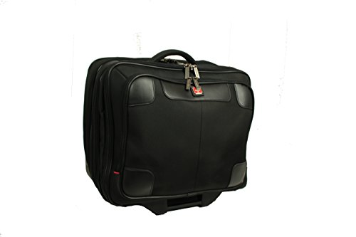 Swissbrand Buisnesstrolley, Laptoptrolley, Koffer (schwarz)