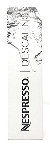 Nespresso Descaling Solution, Fits all Models, 2 Packets by Nespresso
