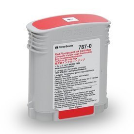 Pitney Bowes #787-0 Red Ink Cartridge Compatible for Connect+ Mailing