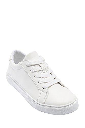 next Para Niños Zapatos Zapatillas Deportivas con Cordones (Niño Mayor) Blanco