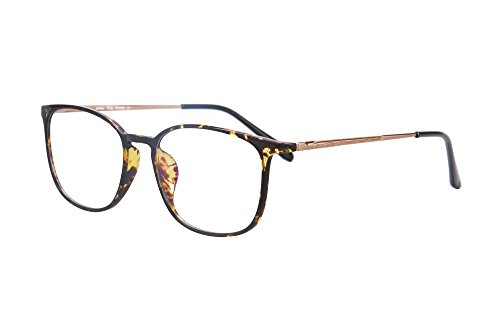 SHINU TR90/Metal Lightweight Frame Progressive Multifocus Computer Reading Glasses-SH022(brown demi, up 0 down - Glasses Magnification Zero