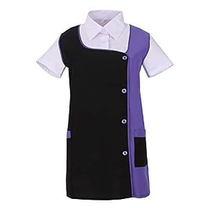 MISEMIYA Camisa de Trabajo para Mujer 3