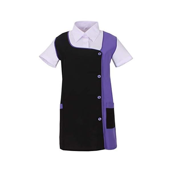 MISEMIYA Camisa de Trabajo para Mujer 1