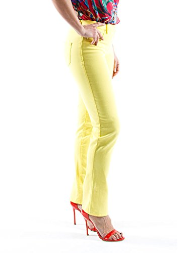 Jeggings Denim Es Color Jeans Bull Tejido Carrera Mujer Liso Para M aw48qC5