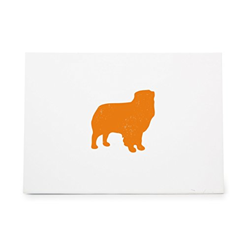 Australian Shepherd Animal Style 6930, Rubber Stamp Shape great for Scrapbooking, Crafts, Card Making, Ink Stamping Crafts