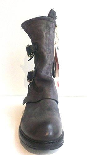 A.S.98 Kurzstiefel, Antikleder nebbia-nero, Corn 260206-0201-0001