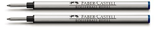 Graf Von Faber Castell Rollerball Pen Refill Blue (Pack of 2)