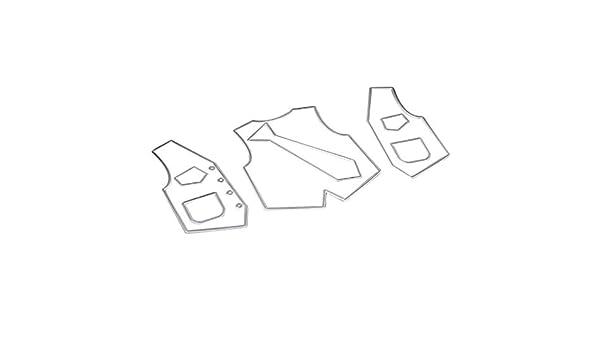 Zhangcr - Plantilla para manualidades con diseño de corbata, para ...