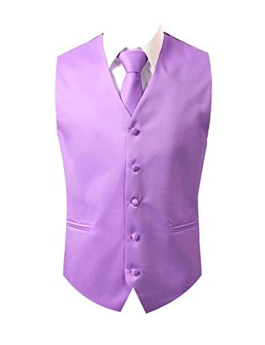 - Brand Q 3pc Vest Set-Lavender-M