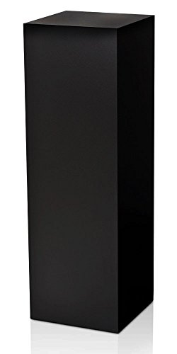 Laminate Pedestal - 11.5 X 11.5 Top - 36 Tall - Black