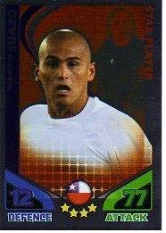 Match Attax World Cup 2010 ENGLAND Star Player CHILE Suazo by Match Attax (World Cup 2010 Match)