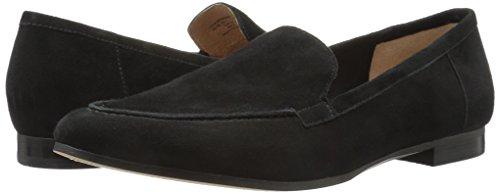 206 Collective Women's Leona Slip-on Loafer, Black, 8 B US