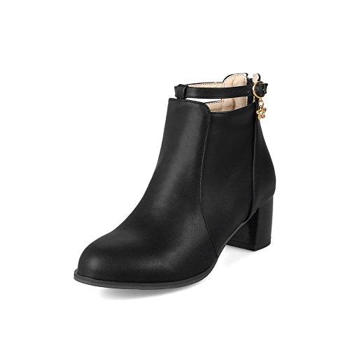BalaMasa Abl09893 Sandales Compensées Femme Noir, 37.5 EU, ABL09893