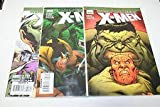 World War Hulk X-men #1-3 Complete Comic Book Mini Series Ed McGuinness Covers