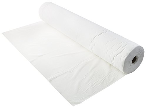 """Disposable Non-Woven Bed Sheet (31.5"""" X 75"""" Per Sheet) 50 Perforated Sheets with Precut Face Holes 
