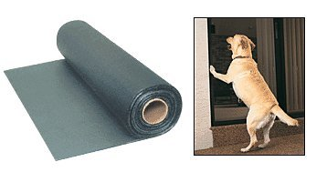 CRL 36'' Charcoal Paw-Proof Pet Screen by C.R. Laurence