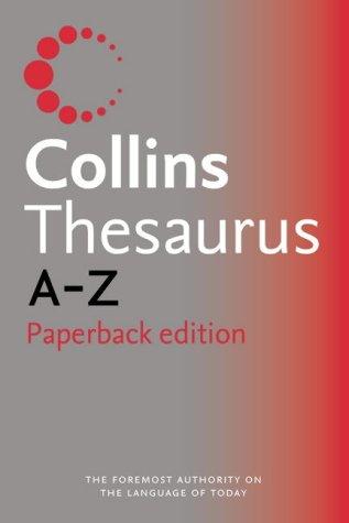 Collins Paperback Thesaurus A-Z PDF