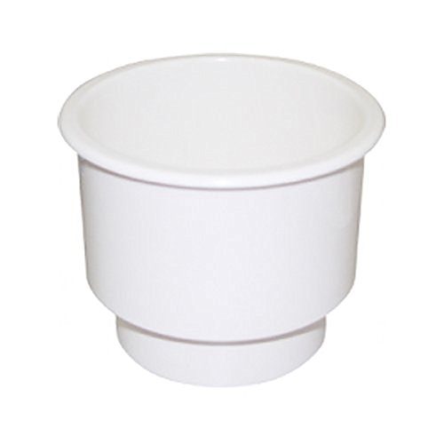 SeaSense Recessed Cup Holder, 3 3/4 x 3 1/4-Inch (White)