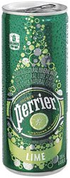 Perrier Lime Flavor Slim Can 8.45 Oz (Pack of 35) by Perrier