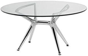 Tavolo Vetro Trasparente Allungabile.Ideapiu Idea Tavoli Esterno Tavoli Allungabili Tavolo In Vetro