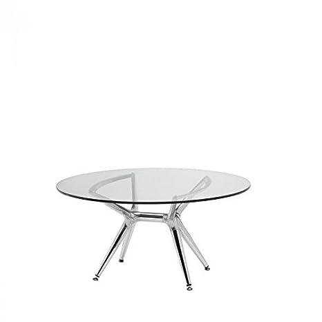 Tavolo Vetro Trasparente Allungabile.Idea Tavoli Esterno Tavoli Allungabili Tavolo In Vetro Trasparente