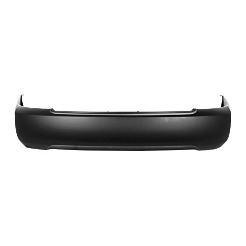MBI AUTO - Primered, Rear Bumper Cover for 2004 2005 2006 Nissan Sentra 04 05 06, NI1100234