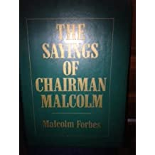 The Sayings of Chairman Malcolm