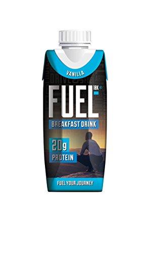 Fuel Liquid Breakfast, Vanilla, 8 Count