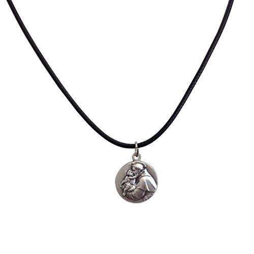 Medal of Saint Anthony of Padua with String Cord - The medals of the Patron Saints (St Anthony Of Padua)