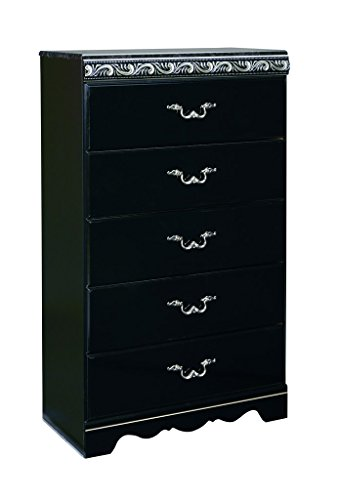 Signature Design by Ashley B104-46 Constellations Collection Chest of Drawers, Black