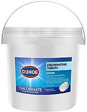 BOOLLY Chlorinating Tablets Swimming Pool, Chlorine Swimming Pool Tablets,Chlorine Granules for Swimming Pool (300pcs)