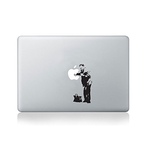 Banksy Laptop Stickers & Decals