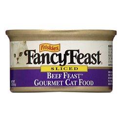 Fancy Feast Sliced Beef Feast (24/3-oz cans), My Pet Supplies