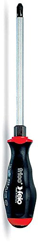 Felo 0715750703 Phillips #1 x 3-1/4-Inch Screwdriver with Hex Bolster, 552 Series