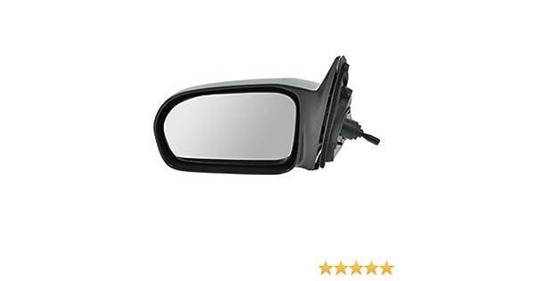 Side View Power Mirror Black Driver Left LH for 01-05 Civic 4 Door Sedan