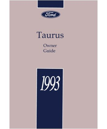 93 ford tarus manual product user guide instruction amazon com 1993 ford taurus owners manual user guide everything else rh amazon com fandeluxe Gallery