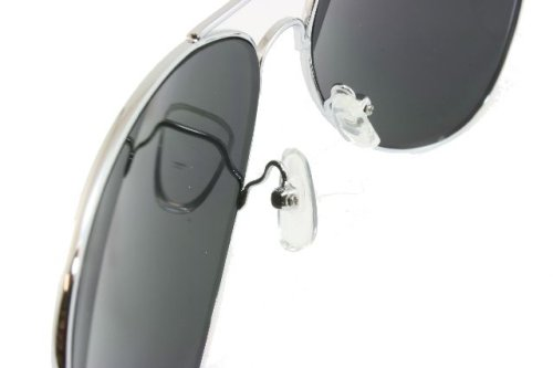 G&G Chrome Metal Silver Mirrored Aviator Sunglasses 3 Pair Special Spring Hinges