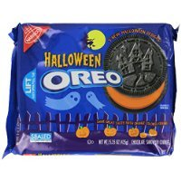 Oreo Halloween Cookies Chocolate Sandwich Treats 5 Shapes 15.35 Oz. (Pack of 2) Sold By HERO24HOUR Thank You