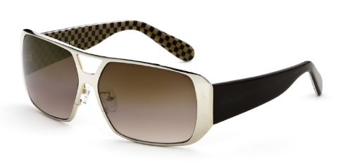 Black Flys MR. FLY Unisex Sunglasses - Gold Brown - Sunglasses Fly Girl