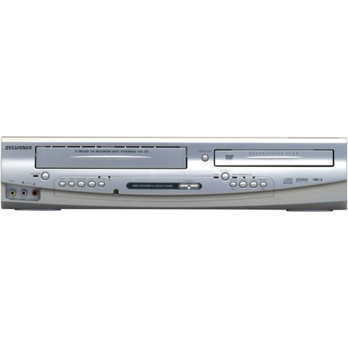 Best Deals! Sylvania DVC865F Progressive Scan DVD/VCR Dual Deck