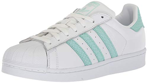 adidas Originals Women's Superstar W, White/Supplier Colour/Legacy, 8.5 M US