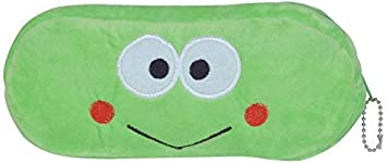 Chords Adorable Sweet Pencil Pouch Green with Zipper and Chain
