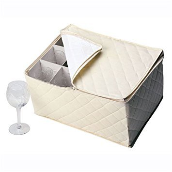 Richards Homewares China Keepers - Stemware Chest by Richards Homewares, Inc