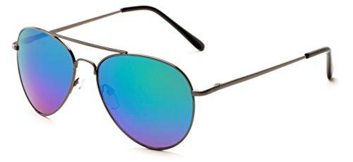Sunglass Warehouse | The Miami Sunglasses - Aviator - Metal Frame - Men & - Sunglass Warehouse Performance