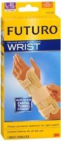 FUTURO Deluxe Wrist Stabilizer Left Hand Large-X-Large Tan 1 - Deluxe Futuro Wrist Stabilizer