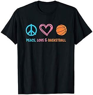 Birthday Gift Basketball : Peace Love and Basketball  Long Sleeve/Shirt