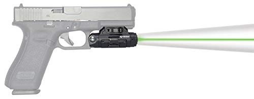 Viridian X5L Gen 3 Green Laser with Tactical Light Universal w/Accessory Rail 500 Lumens Black