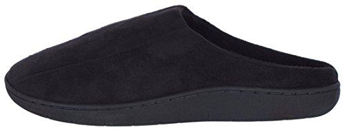 Trufit Heren Memory Foam Comfort Slippers Zwart